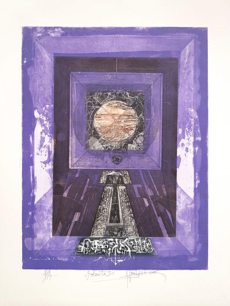 Polarita III., Alexej Vojtášek, akademický maliar, Galéria AVE, rámovanie