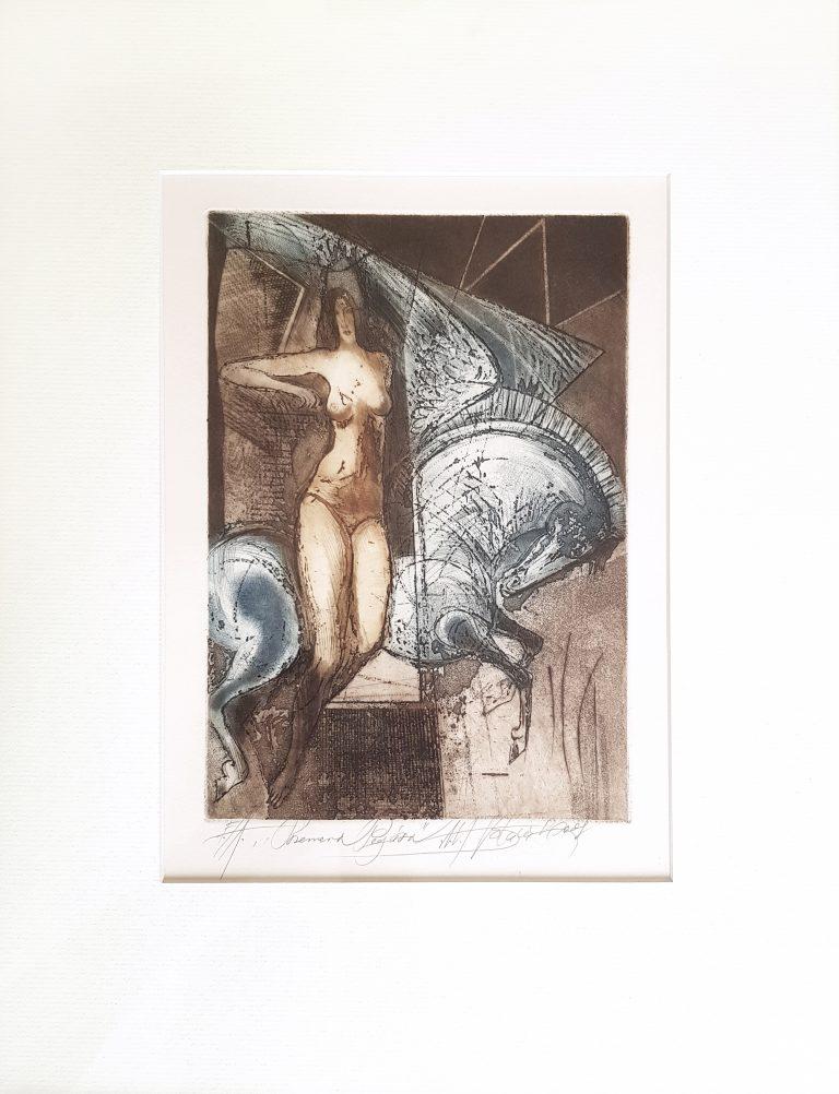 Premena Pegasa, Alexej Vojtášek, GalériaAVE predaj, rámovanie obrazov