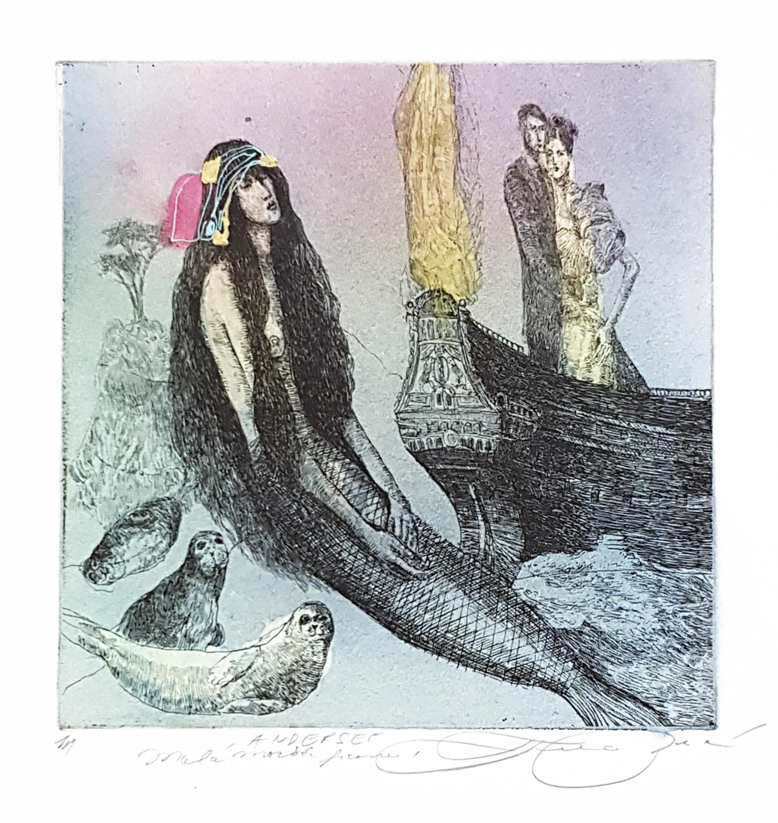 Andersen Malá Morská Panna, Katarína Vavrová, Galéria Ave, Rámovanie