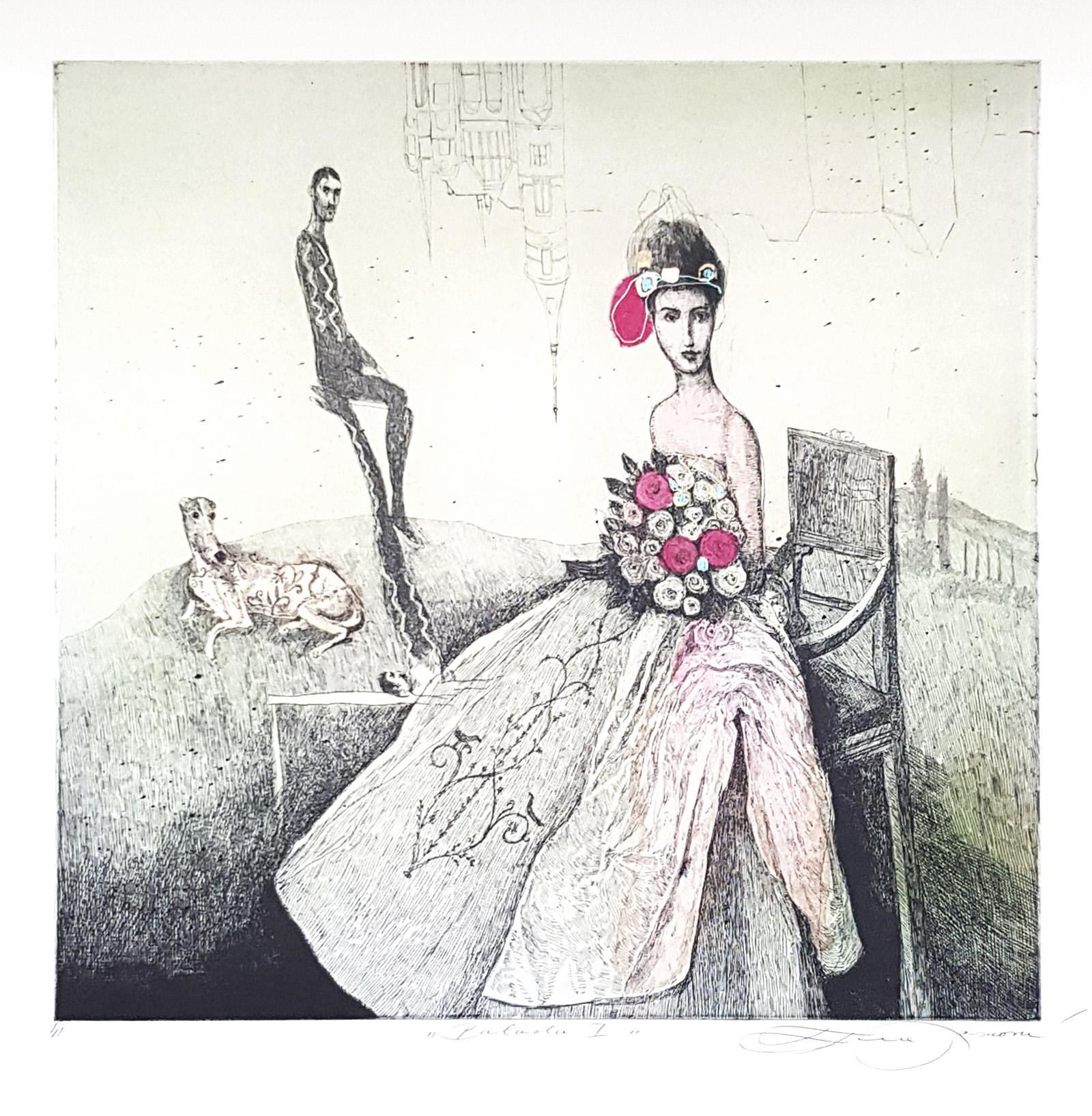 Balada I, Katarína Vavrová, Galéria Ave, Rámovanie