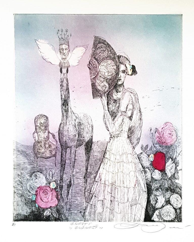 Cnosti Cudnosť, Katarína Vavrová, Galéria Ave, Rámovanie