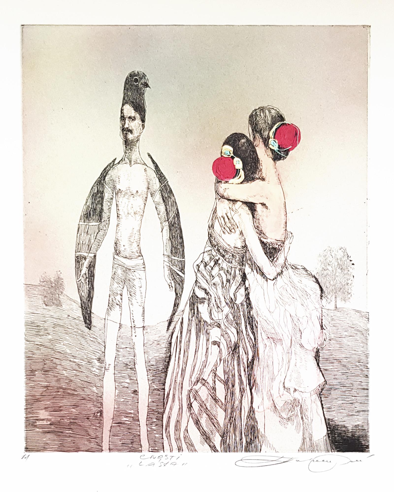 Cnosti Láska, Katarína Vavrová, Galéria Ave, Rámovanie