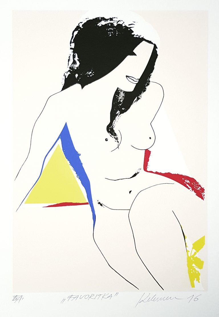 Favoritka, Ján Kelemen, Galéria AVE, rámovanie