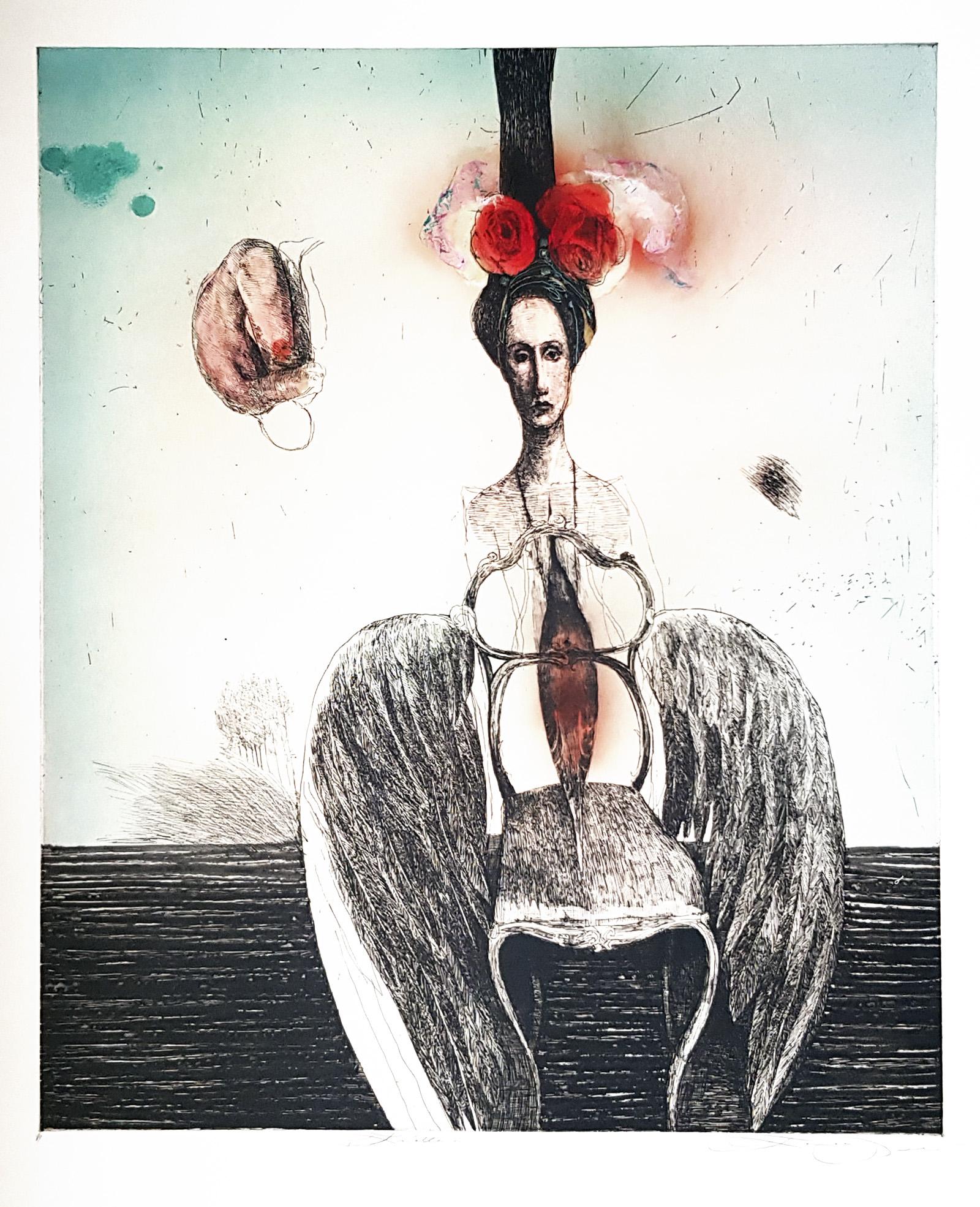 Krídla, Katarína Vavrová, Galéria Ave, rámovanie
