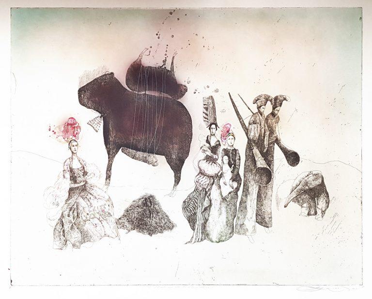 Madame De Pompadour, Katarína Vavrová, Galéria Ave, Rámovanie