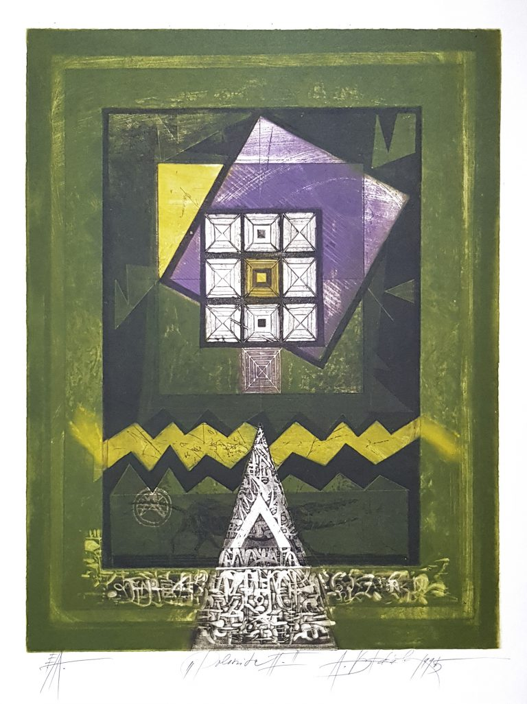 Polarita II, Vojtasek, rámovanie obrazov, Galéria AVE