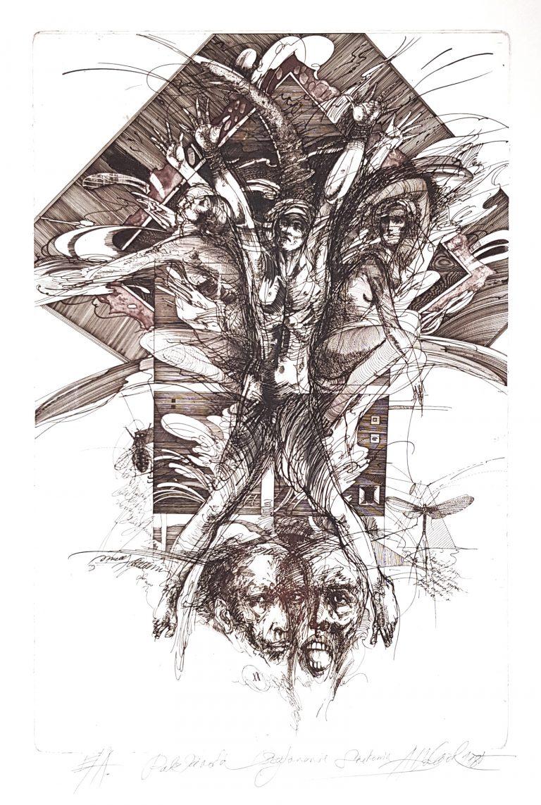 Pulz života - Spitovanie svedomia, Vojtasek, rámovanie obrazov, Galéria AVE
