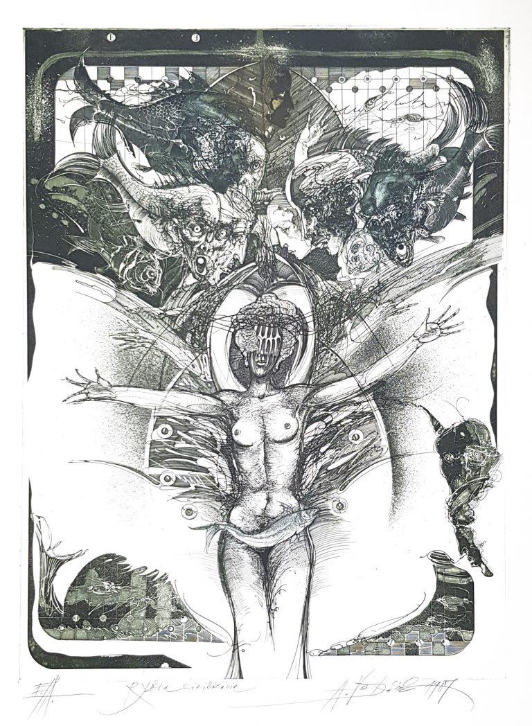 Rybia civilizácia, Vojtasek, rámovanie obrazov, Galéria AVE