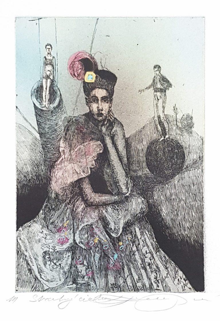 Stratený Cirkus, Katarína Vavrová, Galéria Ave, Rámovanie